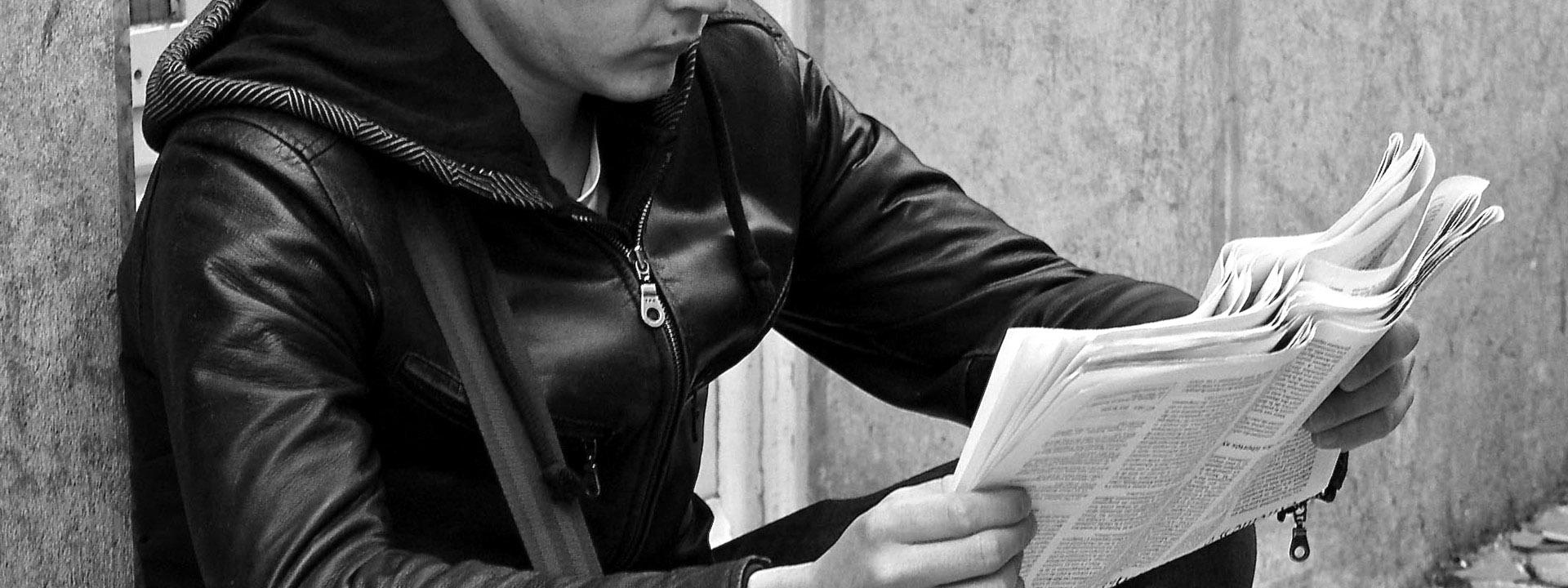 La lectura en la sociedad superpoblada